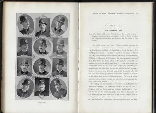 Historical Sketch of the Police Service of Hartford from 1636 to 1901. From Authoritative Sources. Illustrating and Describing the Economy, Equipment and Effectiveness of the Police Force of To-Day