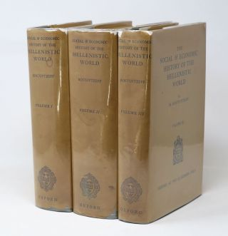 The Social & Economic History of the Hellenistic World [Three-Volume Set]. M. Rostovtzeff
