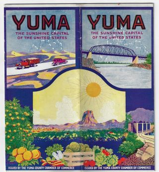 Yuma, the Sunshine Capital of the United States