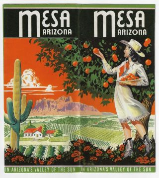 Mesa, Arizona, In Arizona's Valley of the Sun