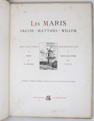 Les Maris: Jacob - Matthijs - Willem