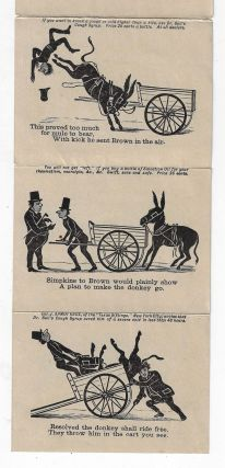 The Story of Esquire Brown and His Mule [Advertising Booklet for Dr. Bull's Cough Syrup and Salvation Oil]