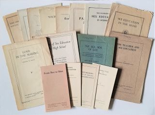 Sixteen Pamphlets on Sex Education Published by the American Social Hygiene Association, the...