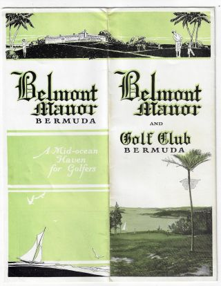 Belmont Manor and Golf Club, Bermuda