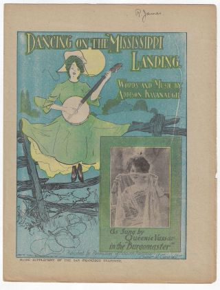 """Klondike Gold"" and 24 Other Pieces of Sheet Music Published by William Randolph Hearst in the San Francisco Examiner, 1896-1905"