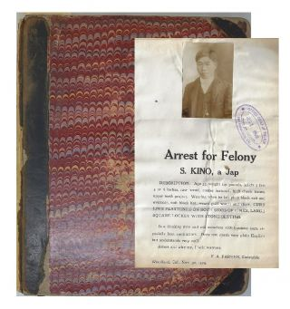 Album Containing 280 California Wanted and Reward Circulars Compiled by the San Francisco Police...
