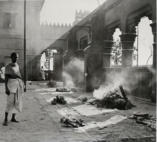 A Yank's Memories of Calcutta [Photo Album with Interesting Provenance, Ephemera Laid In]. Clyde...