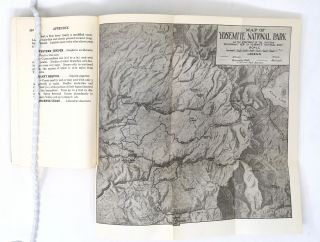 Handbook of Yosemite National Park, A Compendium of Articles on the Yosemite Region by the Leading Scientific Authorities [SIGNED]