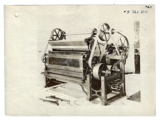 Collection of 22 Factory Photographs of Cotton Gins Manufactured by the Carver Cotton Gin Company...