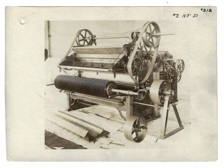 Collection of 22 Factory Photographs of Cotton Gins Manufactured by the Carver Cotton Gin Company of East Bridgeport, Massachusetts