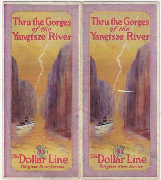 Through the Gorges of the Yangtsze [Yangtze] River