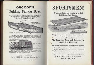 Camping and Camp Outfits, A Manual of Instruction for Young and Old Sportsmen