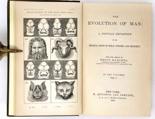 The Evolution of Man: A Popular Exposition of the Principal Points of Human Ontogeny and Phylogeny