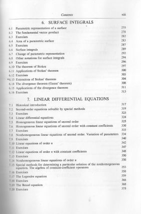 Calculus Volume II, Calculus of Several Variables with Applications to Probability and Vector Analysis
