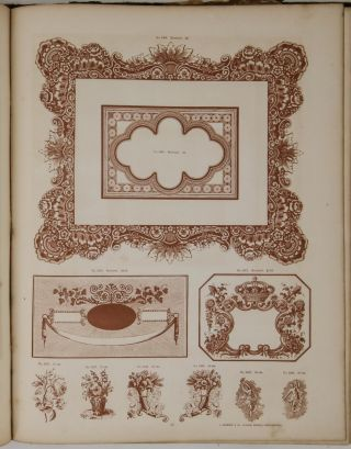 Specimens of Printing Types, Plain and Ornamental, Borders, Cuts, Rules, Dashes &c. from the foundry of L. Johnson & Co. Established in 1796