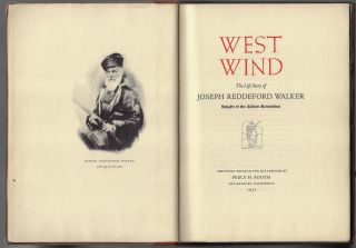 West Wind,The Life Story of Joesph Reddeford Walker, Knight of the Golden Horseshoe