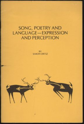 Song, Poetry and Language - Expression and Perception. Simon Ortiz