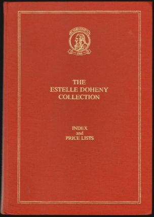 The Estelle Doheny Collection from the Edward Laurence Doheny Memorial Library, St. John's...
