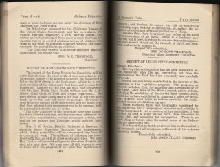 Report of the Board of Commissioners of the City of Mobile for the Year Ending September 30th, 1922 [with] Monthly Statement, June 1923
