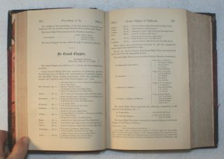 Proceedings of the Grand Chapter of Royal Arch Masons of the State of California, at the Sixth, Seventh, Fourteenth, Fifteenth, Seventeenth, Eighteenth, Nineteenth Annual Convocation[s], Held at the Masonic Hall, in the City of Sacramento and San Francisco
