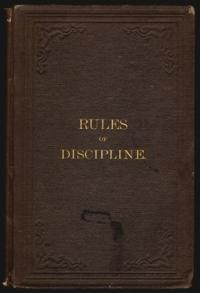 Rules of Discipline of the Yearly Meeting of Men and Women Friends, Held in Philadelphia
