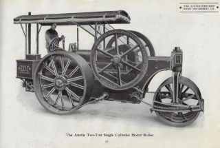 [Catalogue of] The Austin-Western Road Machinery Company