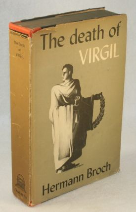 The Death of Virgil. Herman Broch, Starr Untermeyer.