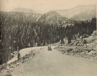 Pikes Peak by Auto and Cog Road