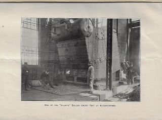 Test of a Babcock & Wilcox Boiler Built for the Alert