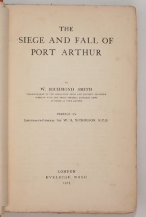 The Siege and Fall of Port Arthur