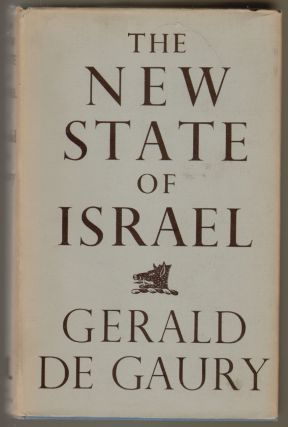 The New State of Israel. Gerald de Gaury