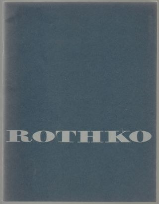 Ten Major Works, Mark Rothko. James J. Byrnes, Mark Rothko